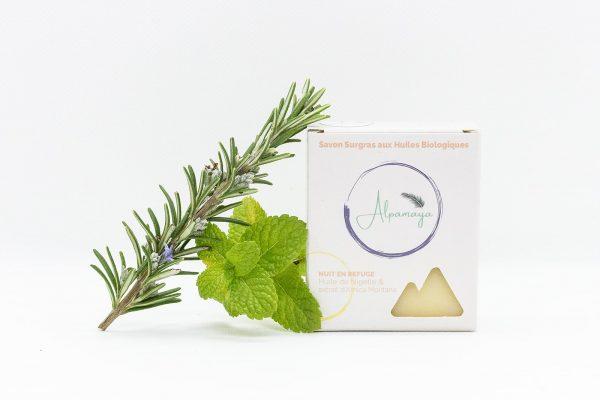 savon naturel thym
